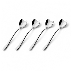 big love espresso spoon set/4