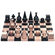 man ray chess set with board