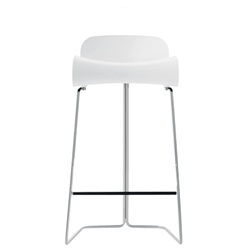 arango - bcn counter stool - white