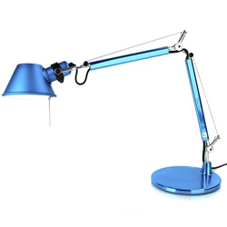 arango - tolomeo micro table lamp - blue