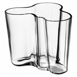aalto vase - small - clear