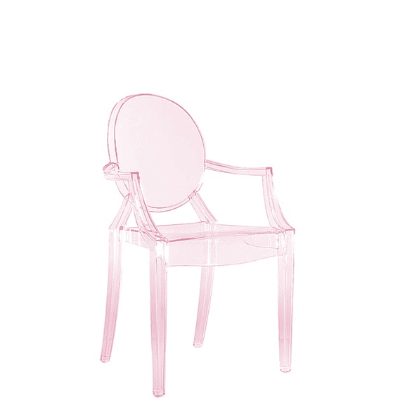 Superieur Lou Lou Ghost Chair   Pink Set Of 4