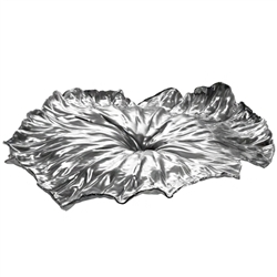 arango - a lotus leaf - stainless steel