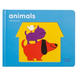 touch think learn books - animals