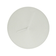 ring ceramic clock white