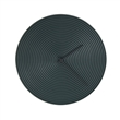 ring ceramic clock black grey