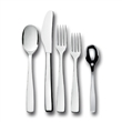 knife fork spoon flatware - 5 piece place setting