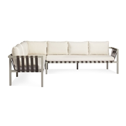 jibe outdoor collection - xl left sectional sofa