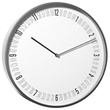 numeric wall clock - large