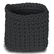 quadrat black basket - large