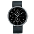record chronoscope watch - black
