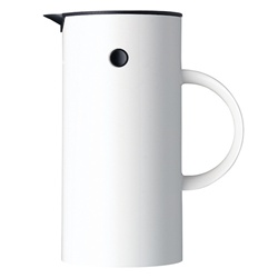 coffee press - 8 cup - white