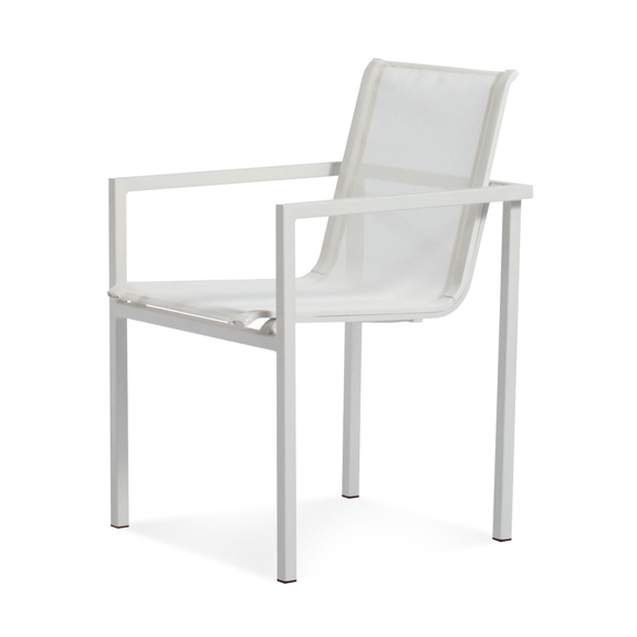 arango skiff outdoor collection stacking chair