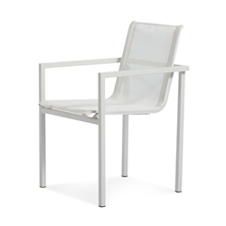 skiff outdoor collection - stacking chair