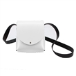 arango - italian shoulder bag- white