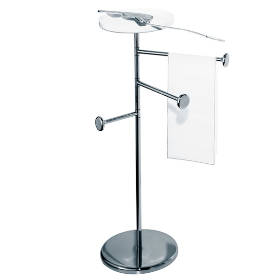 towel stand. Birillo - Towel Stand White D