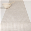 "mini basketweave table runner - 14""x72"" parchment"