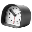 optic alarm clock - black