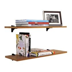 clip shelves - black