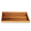 "teak rectangular tray 12""x5"""