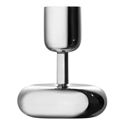 nappula candleholder 4.25in -  stainless steel