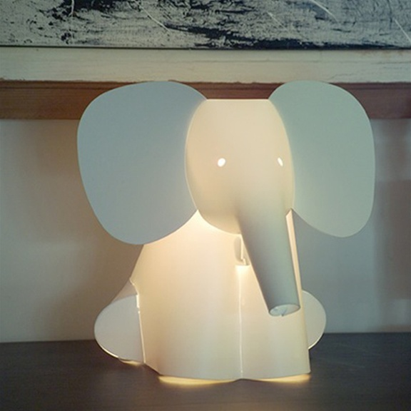 arango elephant lamp. Black Bedroom Furniture Sets. Home Design Ideas