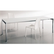 keyo extension table - alum/extrawhite
