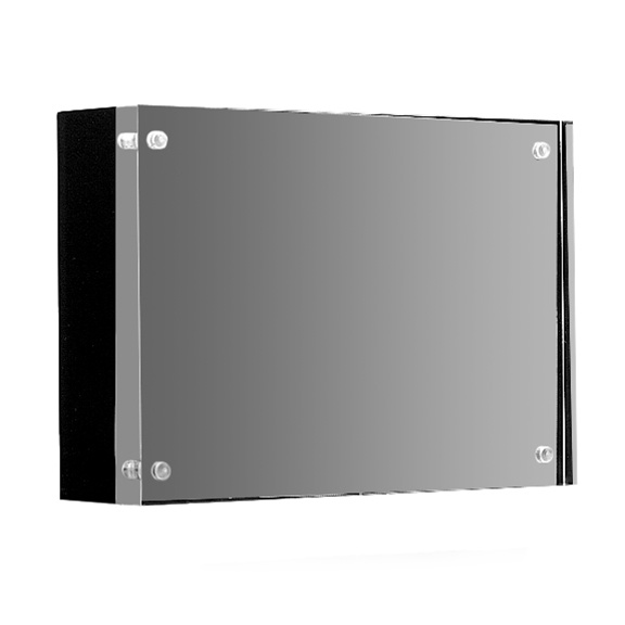 Arango Magnetic Frame Black Wood Back 5x7