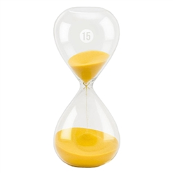15 minute sand timer