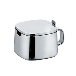 adagio stainless steel sugar bowl
