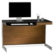 sequel compact desk - walnut