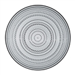 kastehelmi plate - medium - gray