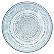 kastehelmi plate - medium - light blue