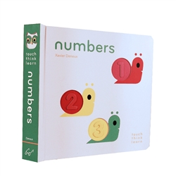 touch think learn books - numbers