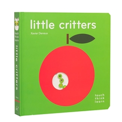 touch think learn books - little critters