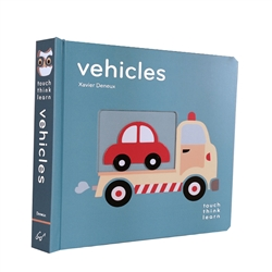 touch think learn books - vehicles
