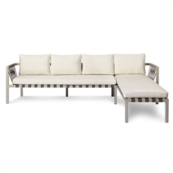 jibe outdoor collection - right sectional sofa