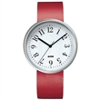 record watch - red 3.61cm