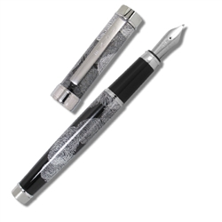 fingerprints fountain pen