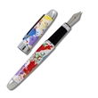 paint splash fountain pen